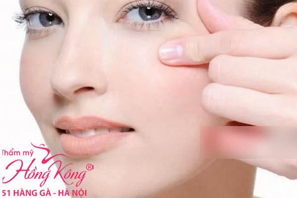 Cách xóa nếp nhăn vùng mắt