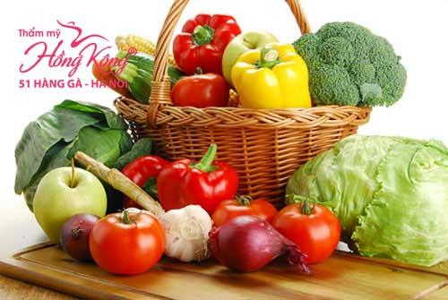 Hoa quả thực phẩm tốt cho cơ thể sau khi phun phiêu