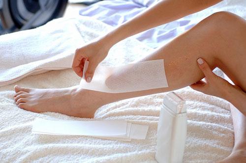 cách triệt lông chân vĩnh viễn