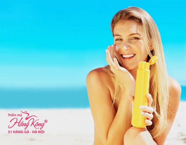 Kem chống nắng bảo vệ làn da bạn khỏi các tia có hại từ mặt trời