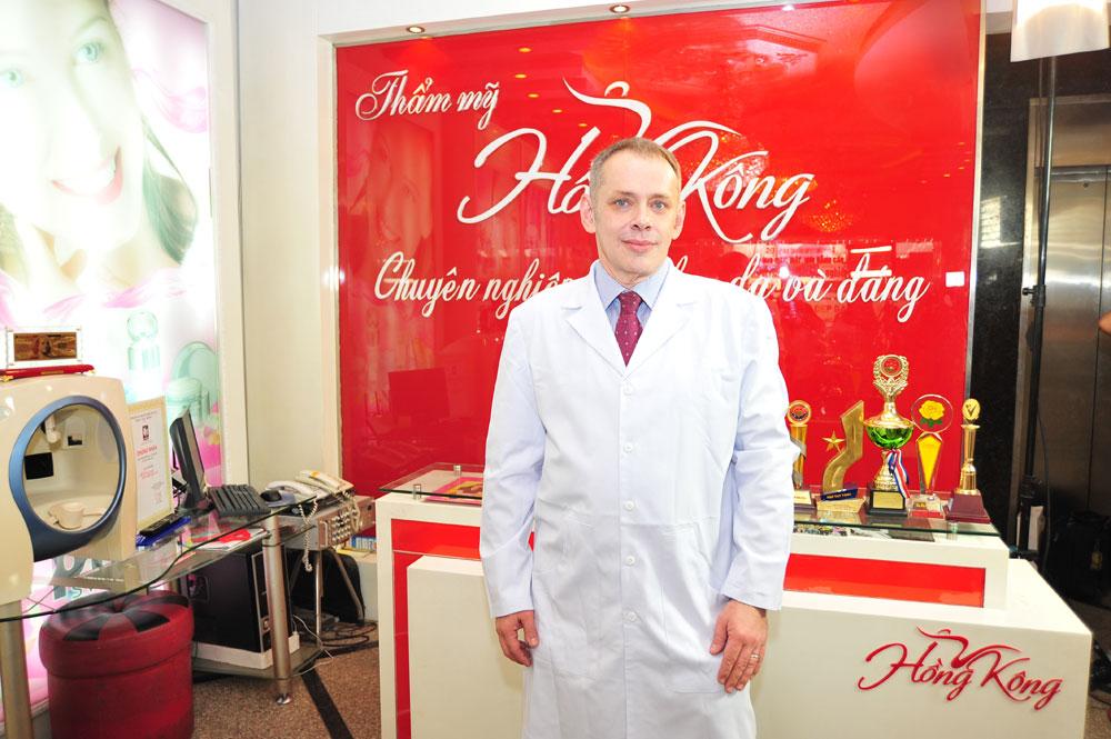Boris Kunsevitsky – Chuyên gia lâm sàng quốc tế Châu Á Thái Bình Dương về công nghệ Thermage