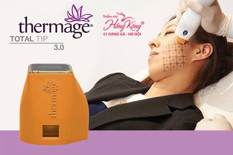 Thermage là công nghệ trẻ hóa da, xóa nhăn, nâng cơ mặt không phẫu thuật