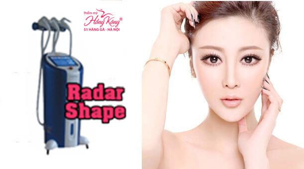 Radar Shape làm thon gọn gương mặt hiệu quả và nhanh chóng