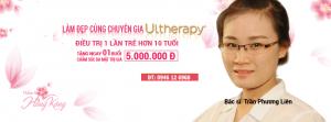 Nâng cơ, trẻ hóa da một lần duy nhất với Ultherapy