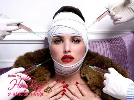 Thẩm mỹ da mặt bằng cách tiêm botox