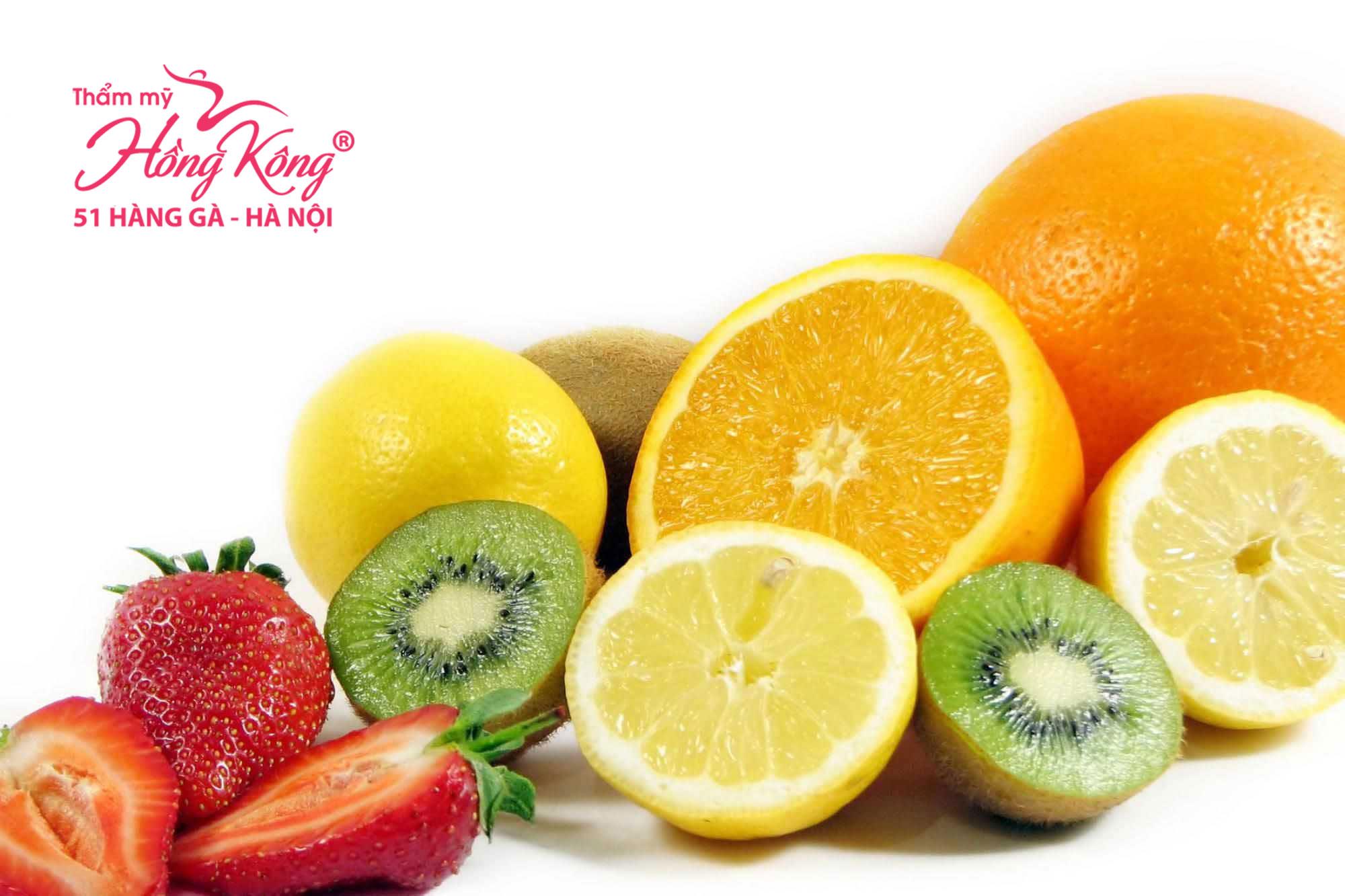Ăn thực phẩm giàu vitamin C giúp duy trì sự săn chắc và căng mịn của làn da