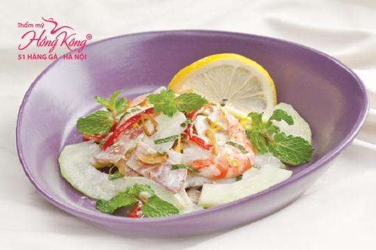 Hãy bổ sung salad ổi vào thực đơn hàng ngày, bạn sẽ nhanh chóng có được vóc dáng thon gọn như ý
