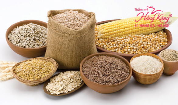 Ngũ cốc là thực phẩm không thể thiếu trong thực đơn giảm béo bụng