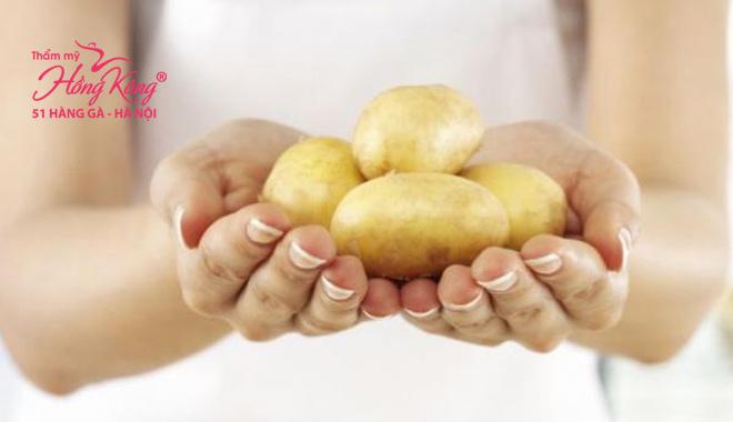 Khoai tây có khả năng chống lão hóa da hiệu quả