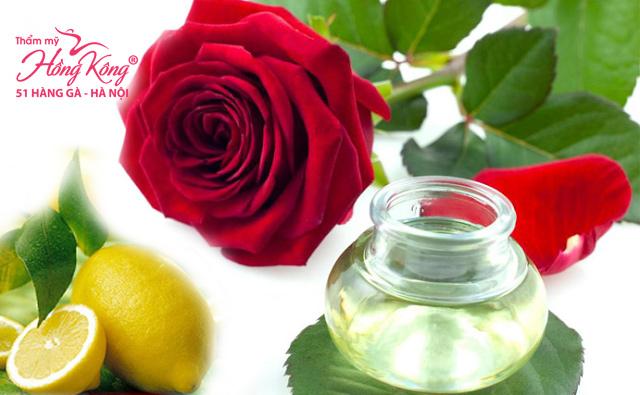 Hỗn hợp nước hoa hồng giúp da căng mịn và trẻ trung