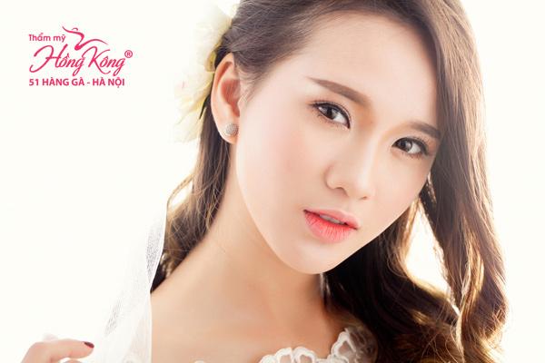 Lông mày ngang Hàn Quốc giúp gương mặt trẻ trung, nữ tính và dịu dàng hơn