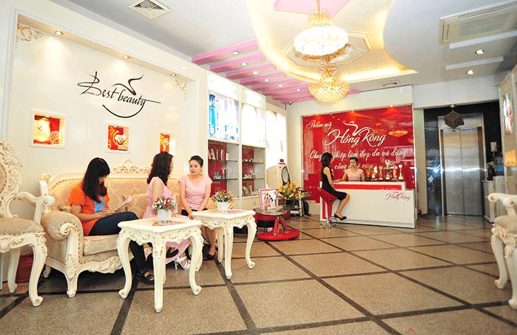 Thẩm mỹ Hồng Kông đã có gần 25 năm kinh nghiệm trong lĩnh vực làm đẹp
