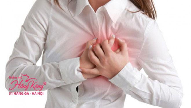 Việc quá lạm dụng kem tẩy lông sẽ làm rối loạn nhịp tim