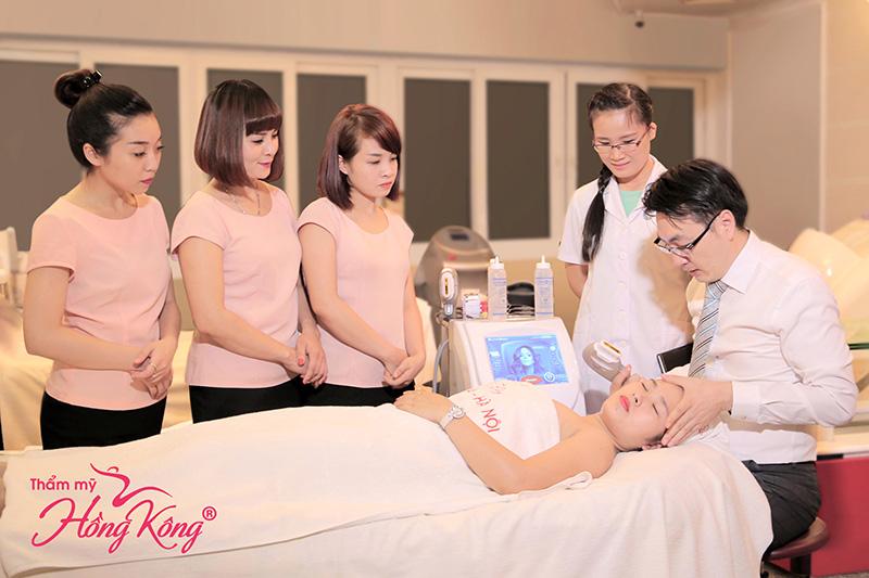 Điều trị được mọi loại da và nhiều vùng trên cơ thể