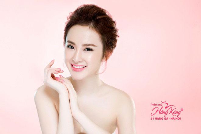 Angela Phương Trinh sở hữu gương mặt đẹp rạng rỡ