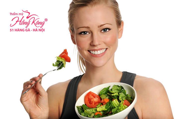 Hãy tăng cường ăn rau xanh