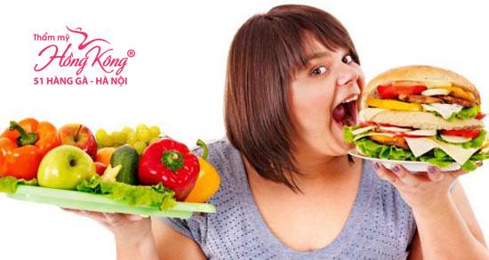 Chế độ ăn uống không khoa học khiến cơ thể nhanh chóng phát phì