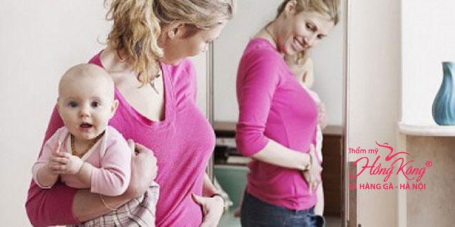 Giảm cân sau sinh là mỗi quan tâm của nhiều chị em phụ nữ