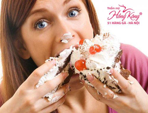 Ăn nhiều đồ ngọt khiến lông mọc nhiều hơn