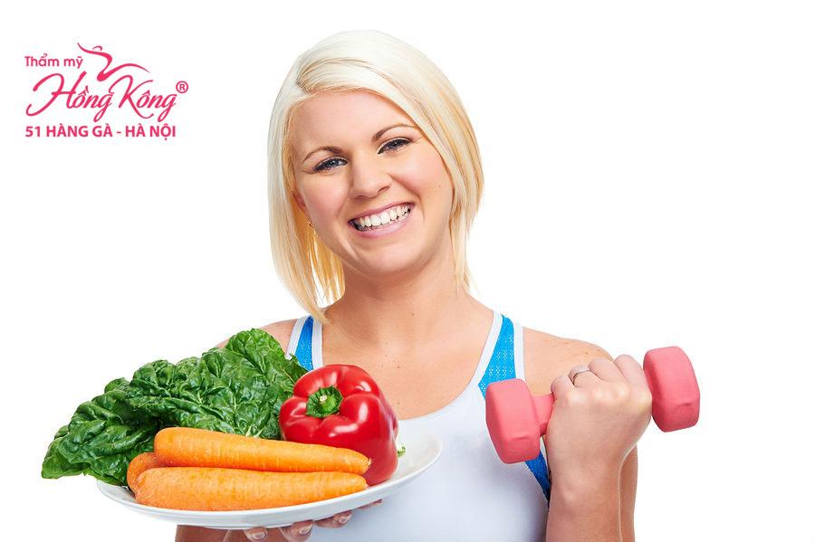Muốn giảm cân nhanh chóng, bạn phải có chế độ ăn uống và tập luyện khoa học