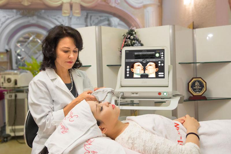 Sóng siêu âm hội tụ của Ultherapy giúp tái tạo và tăng sinh collagen