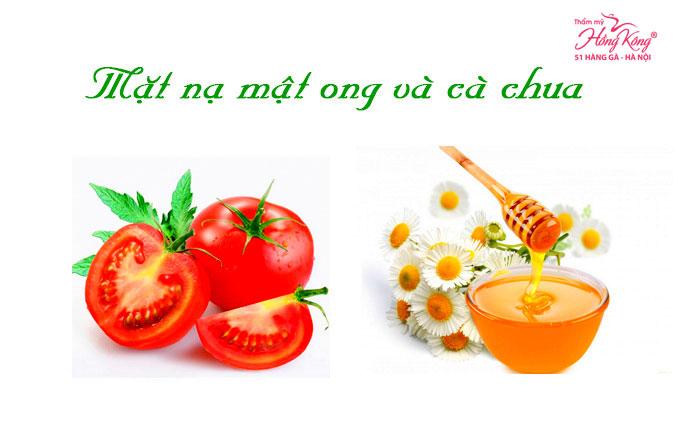 Cà chua + mật ong