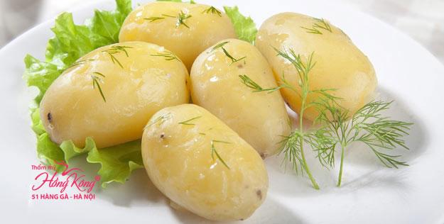Muốn giảm cân, bạn nên ăn khoai tây luộc
