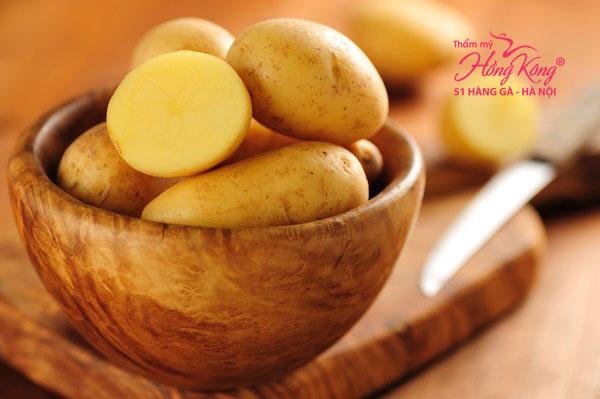 Khoai tây có đến 4,7 gam chất xơ, gần ngang bằng với 1 quả táo