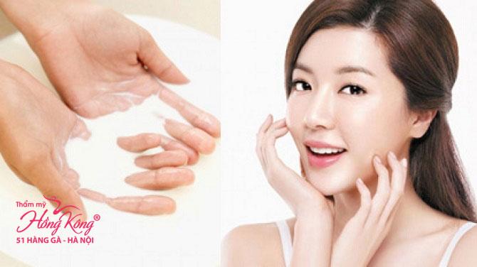 Rửa mặt bằng sữa tươi giúp chị em văn phòng lấy lại làn da mềm mại và mịn màng