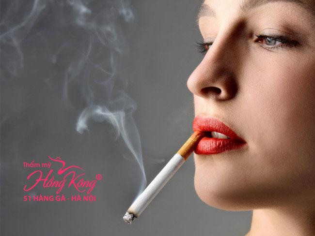 Việc hút thuốc sẽ khiến 3 bộ phận trong cơ thể bạn lão hóa sớm