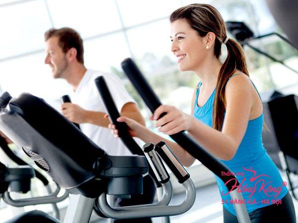 Tập thể dục cường độ cao giúp giảm mỡ bụng hiệu quả