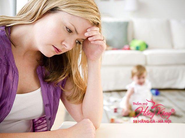 Chị em sau sinh thường rất đau đầu với vấn đề cân nặng