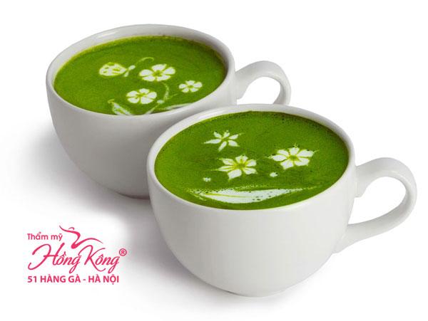 Trong trà xanh có chứa chất chống oxy hóa cao gấp 20 lần