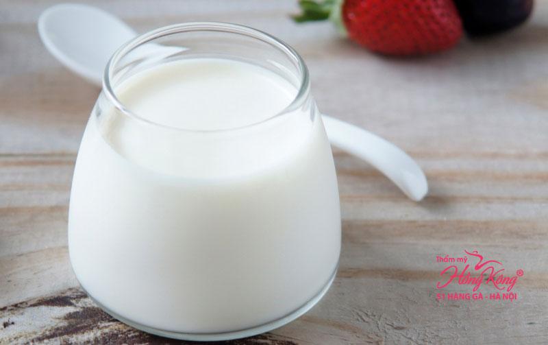 Sữa chua không đường giúp giảm cân hiệu quả