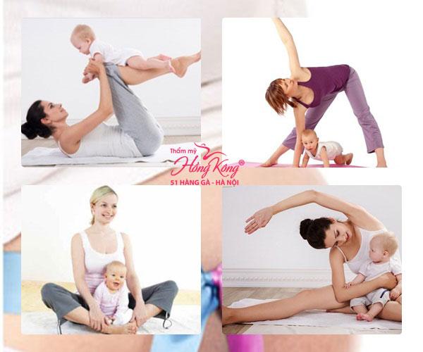 Giảm béo sau sinh là thách thức lớn đối với các mẹ