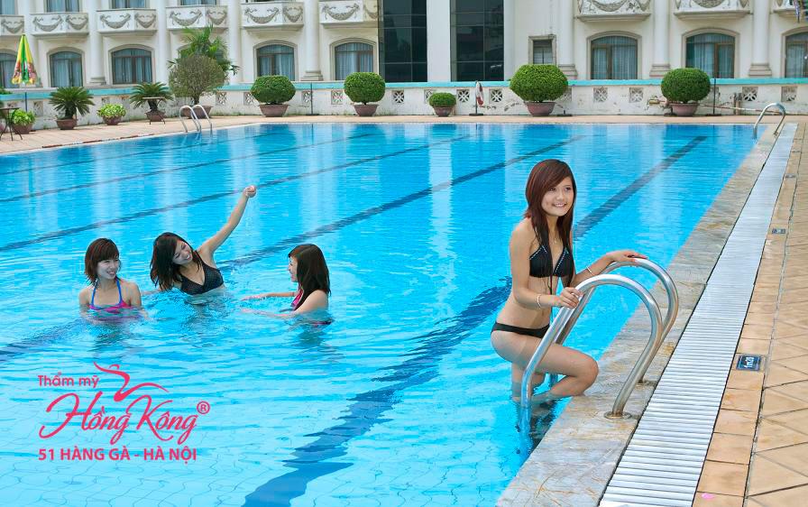 Tốt nhất bạn nên bơi lội sau khi wax lông được 03 ngày