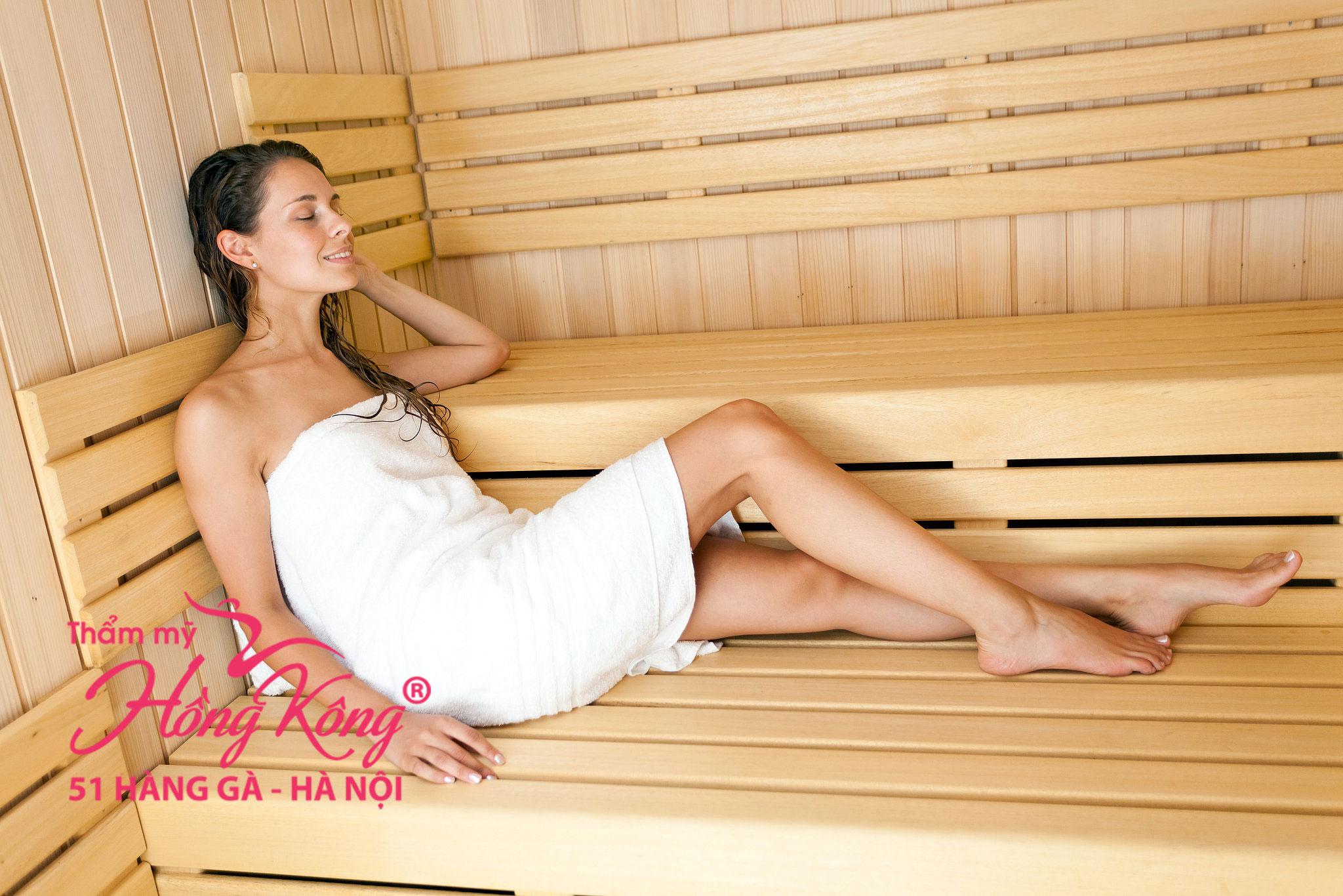 bạn cũng chỉ nên xông hơi trước khi waxing lông vùng bikini