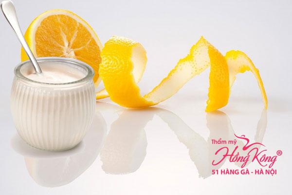 Nước cam kết hợp với sữa tươi không đường là mặt nạ lý tưởng dành cho da thường