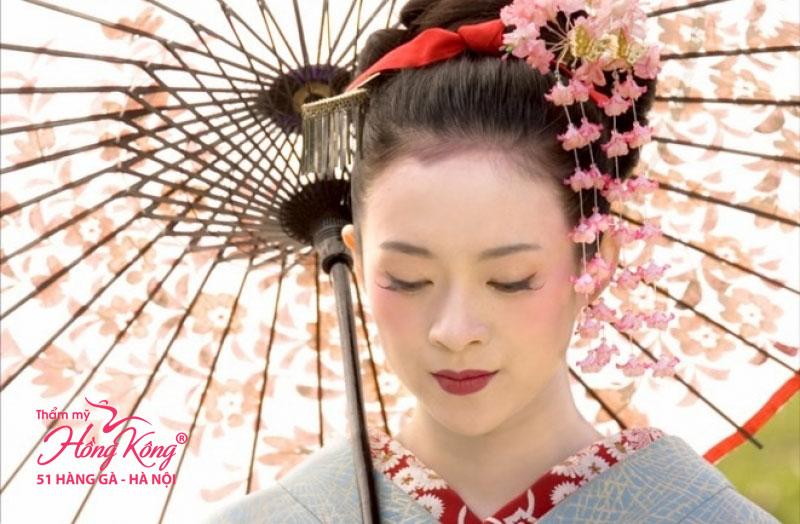 Làn da căng mịn của phụ nữ Nhật là ao ước của phái đẹp trên khắp thế giới