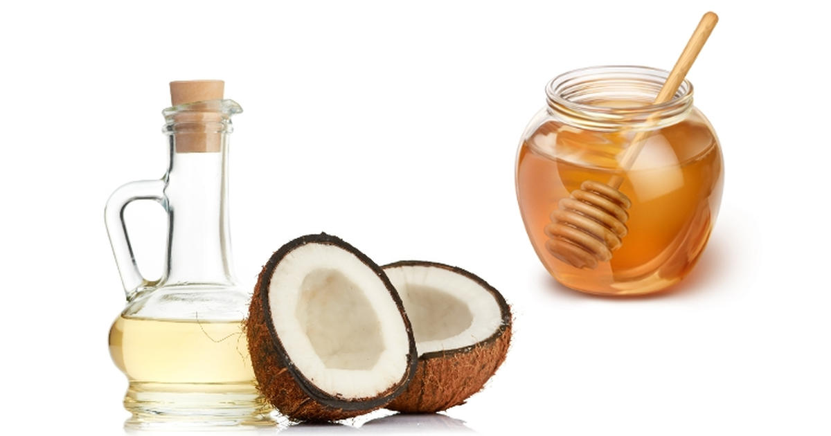 Mặt nạ dầu dừa, mật ong làm giảm tình trạng khô sần, ngăn chặn xuất hiện nếp nhăn