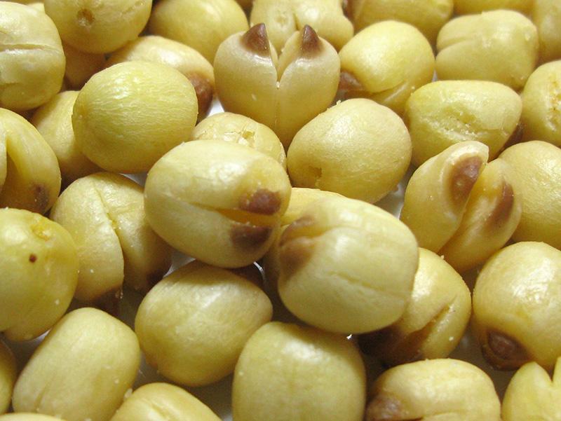 Hạt sen có chứa enzyme làm tăng độ đàn hồi cho da