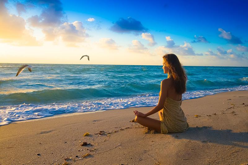 Thiền định để cơ thể và tinh thần được thả lỏng, giải tỏa căng thẳng