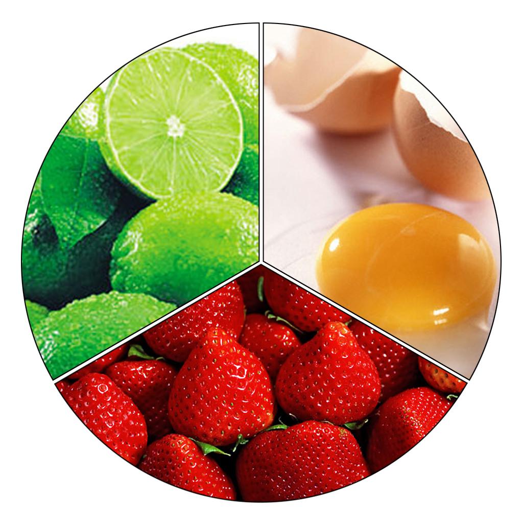 Mặt nạ dâu tây, chanh, lòng trắng trứng gà có thể làm mờ vết nám nhanh chóng