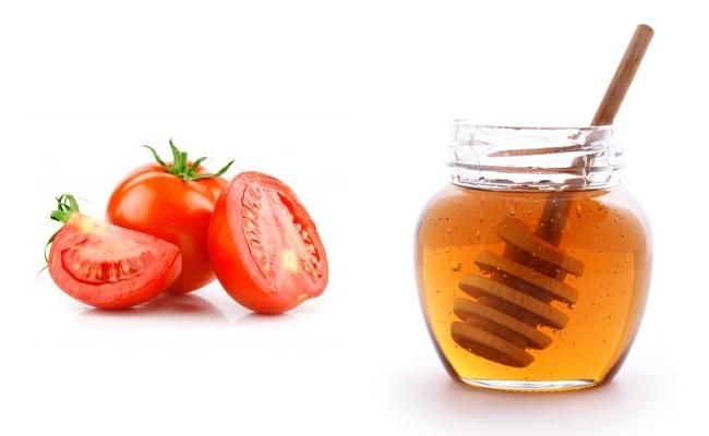 Chống lão hóa với cà chua và mật ong làm giảm nếp nhăn, cho bạn làn da sáng màu hơn