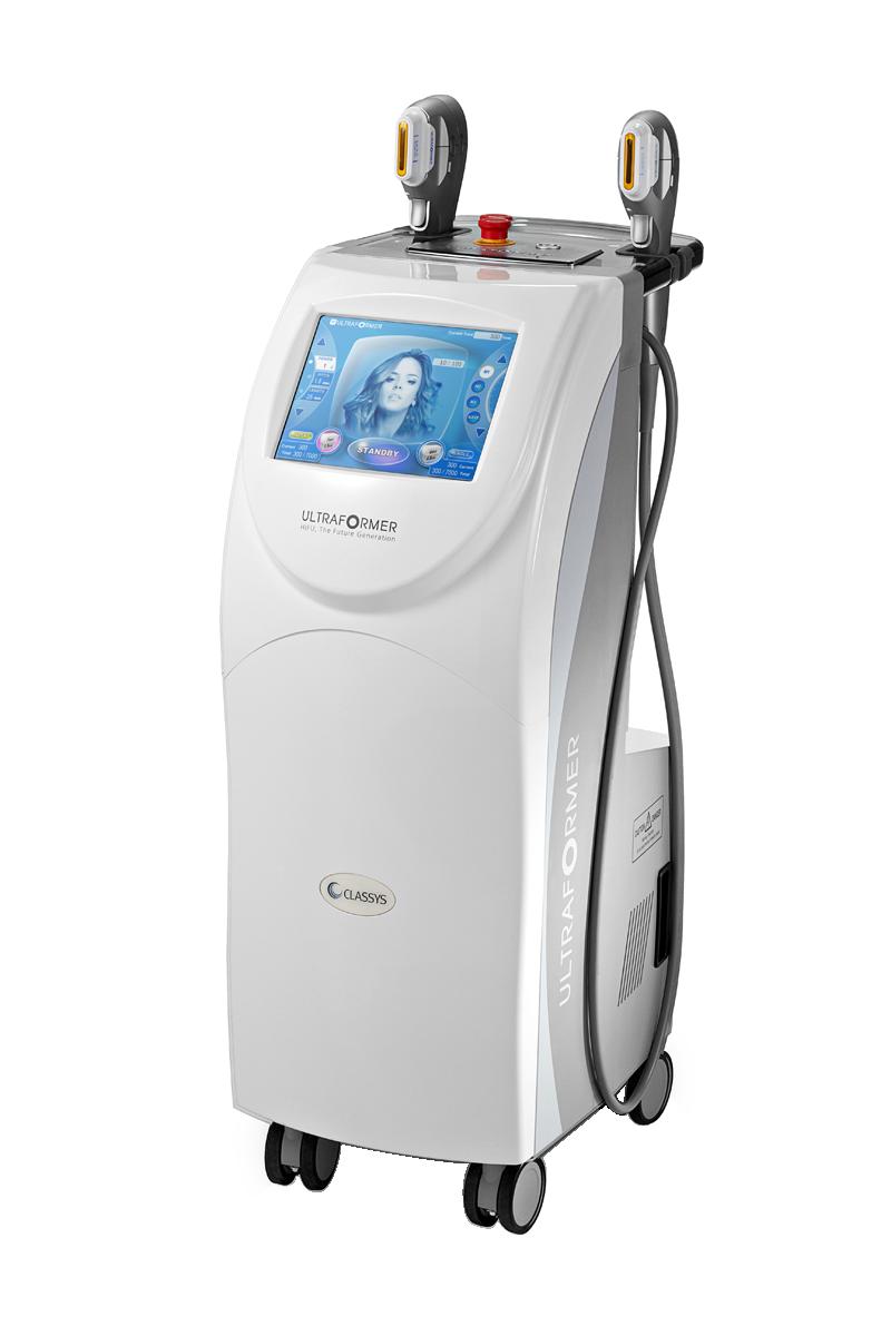 Công nghệ HIFU Ultraformer có khả năng nâng cơ, chống chảy xệ, tăng cường độ săn chắc, đàn hồi cho da