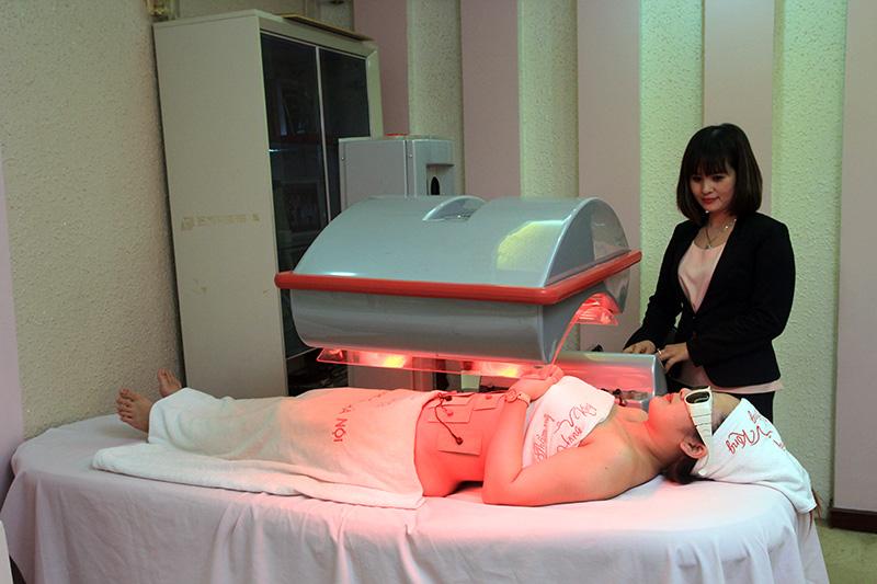 Công nghệ Slim Up Ultra giúp làm tiêu mỡ, săn chắc da, lấy lại phom dáng chuẩn