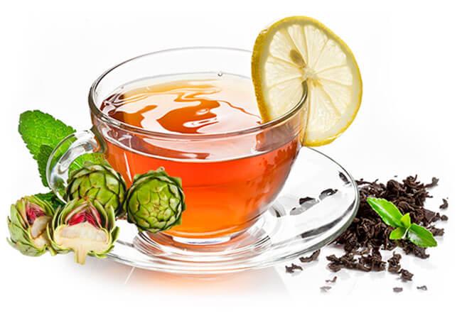 Uống trà atisô mỗi ngày sẽ đem lại hiệu quả trị mụn tốt nhất