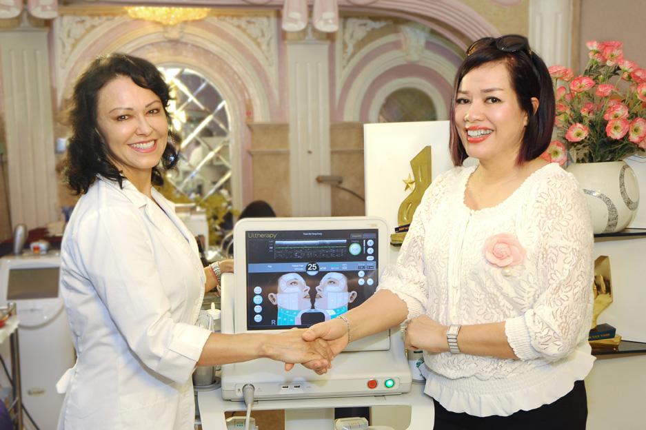 Ultherapy đang được ứng dụng rất thành công tại Thẩm mỹ Hồng Kông 51 Hàng Gà