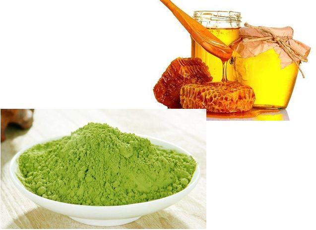 Trẻ hóa làn da bằng trà xanh và mật ong