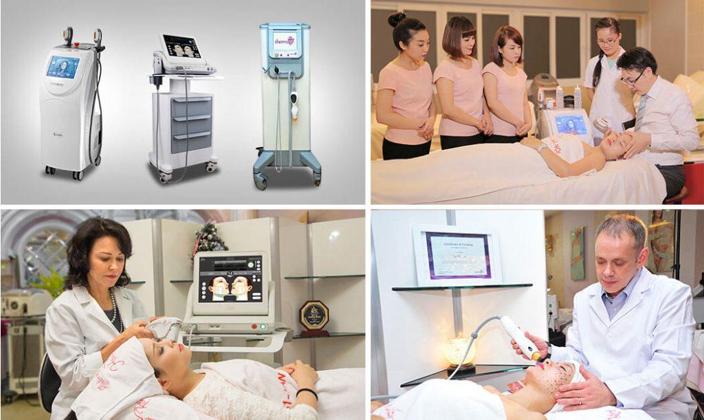 Thẩm mỹ Hồng Kông hiện đang áp dụng độc quyền 3 công nghệ Thermage, Ultherapy và HIFU Ultraformer